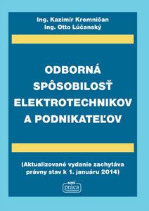 Obrázok Odborná spôsobilosť elektrotechnikov a podnikateľov