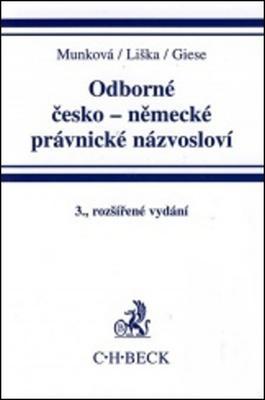 Odborné česko-německé právnické názvosloví