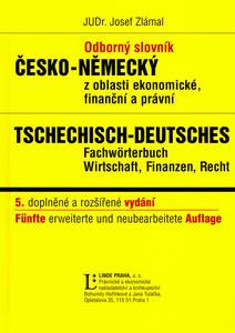 Obrázok Odborný slovník česko-německý z oblasti ekonomické, finanční a právní
