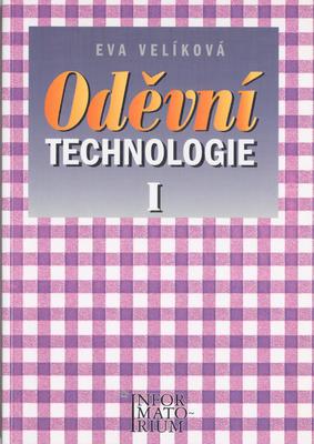 Obrázok Oděvní technologie I