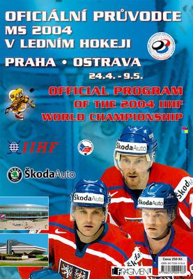 Obrázok Oficiální průvodce MS 2004 v ledním hokeji