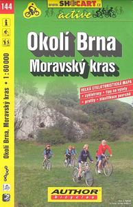Obrázok Okolí Brna, Moravský kras 1:60 000
