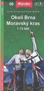 Obrázok Okolí Brna Moravský kras 1:75 000