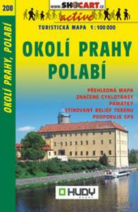 Obrázok Okolí Prahy, Polabí 1:100 000