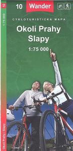Obrázok Okolí Prahy Slapy 1:75 000