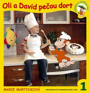 Obrázok Oli a David pečou dort
