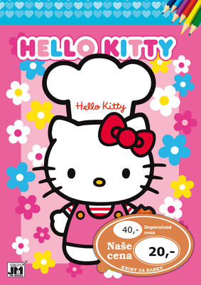 Obrázok Omalovánka Hello Kitty