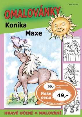 Obrázok Omalovánky koníka Maxe