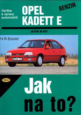 Obrázok Opel Kadett benzín od 9/84 do 8/91
