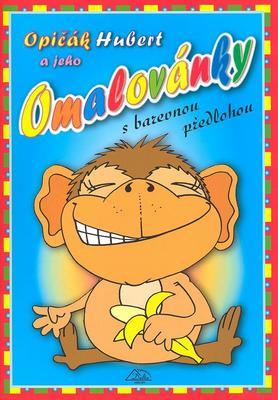 Obrázok Opičák Hubert a jeho omalovánky