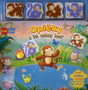 Obrázok Opičky a ich vzácny hosť