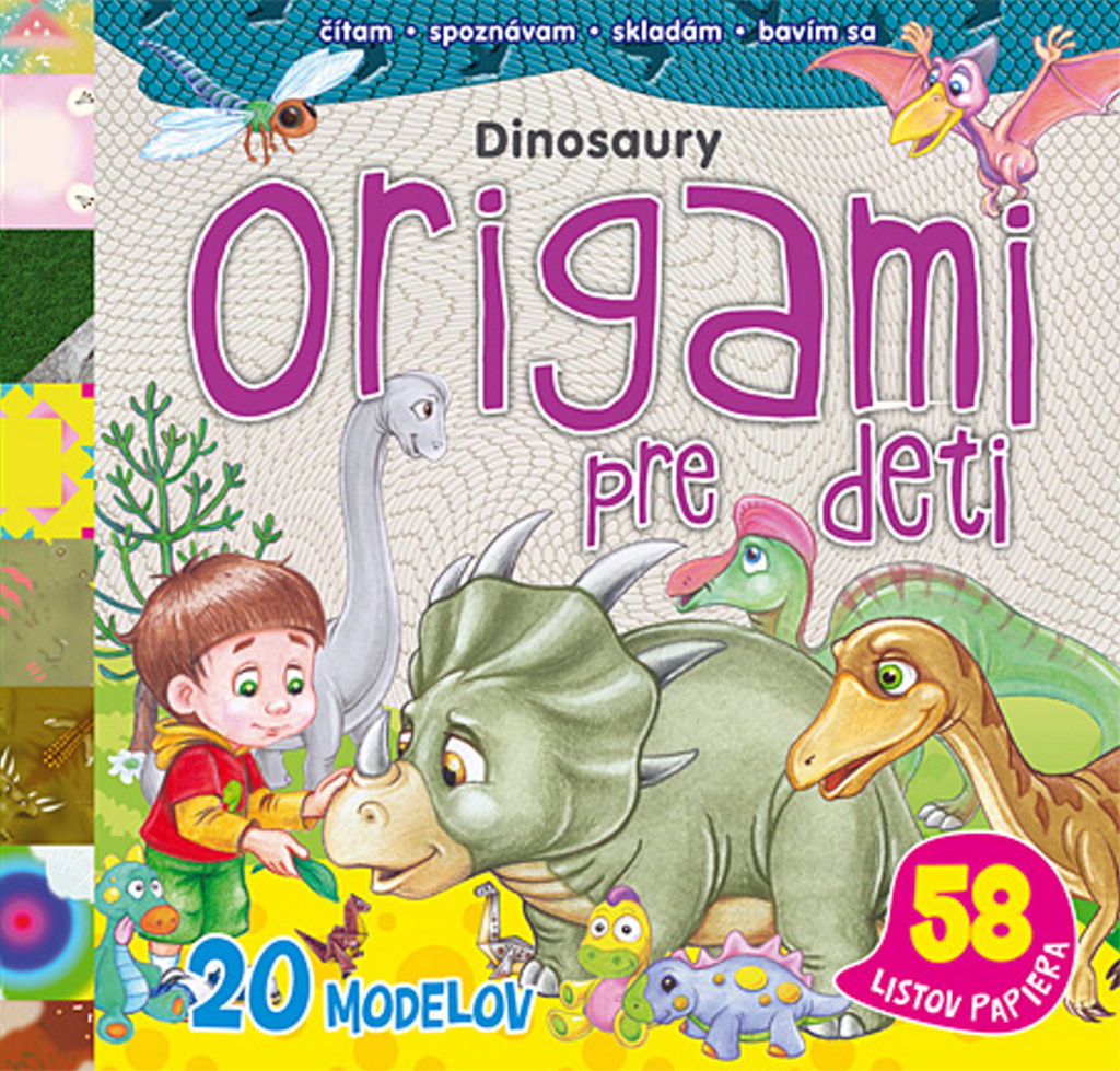 Origami pre deti Dinosaury