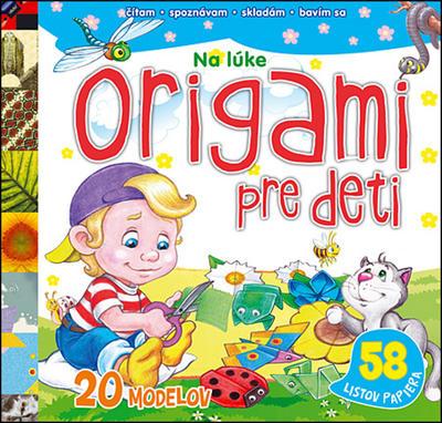 Obrázok Origami pre deti Na lúke