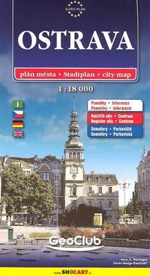 Obrázok Ostrava 1:18 000