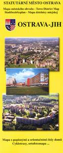 Obrázok Ostrava jih Mapa městského obvodu