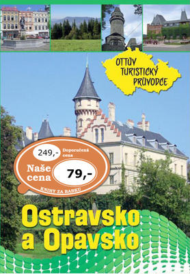 Obrázok Ostravsko a Opavsko Ottův turistický průvodce