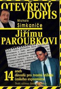 Obrázok Otevřený dopis Jiřímu Paroubkovi