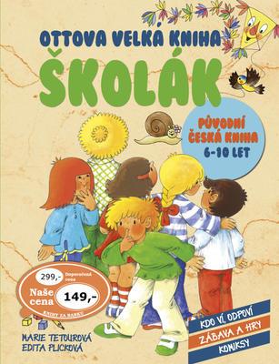 Obrázok Ottova velká kniha Školák