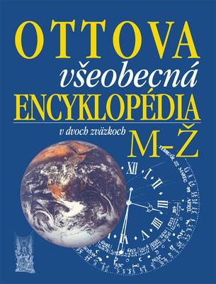 Obrázok Ottova všeobecná encyklopédia v dvoch zväzkoch A-L, M-Ž