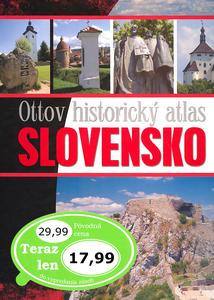 Obrázok Ottov historický atlas Slovensko