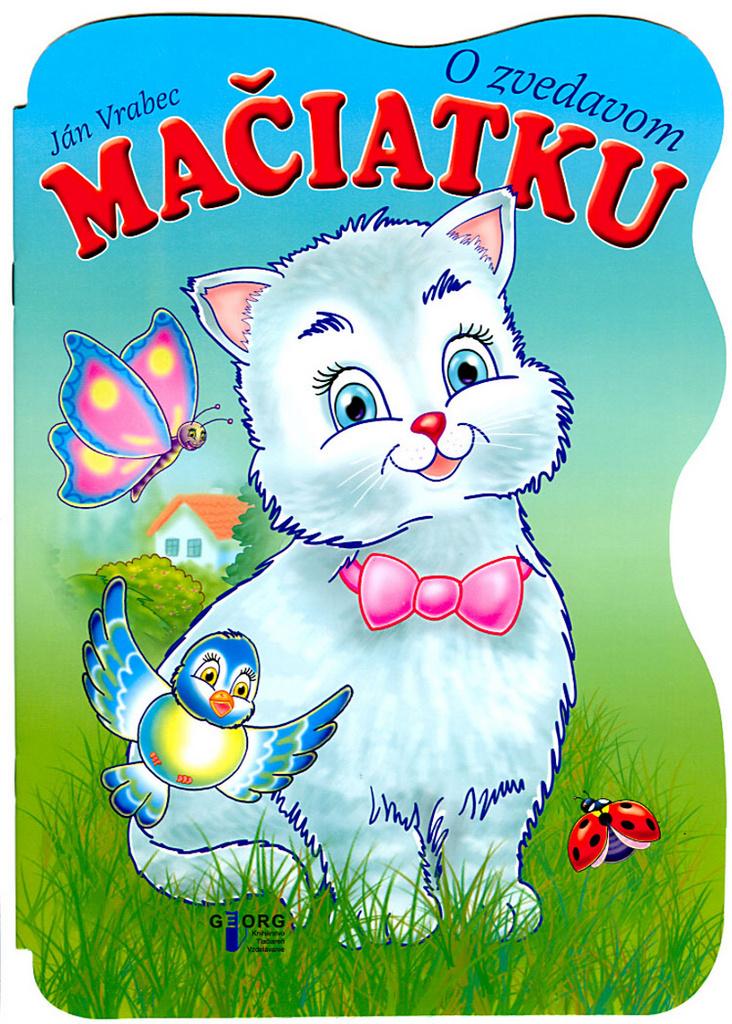 O zvedavom mačiatku - Ján Vrabec