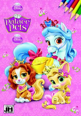 Obrázok Palace Pets omalovánka