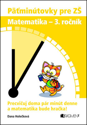 Obrázok Päťminútovky pre ZŠ Matematika - 3. ročník