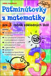 Obrázok Päťminútovky z matematiky pre 3. ročník základných škôl