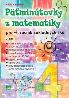 Obrázok Päťminútovky z matematiky pre 4. ročník základných škôl