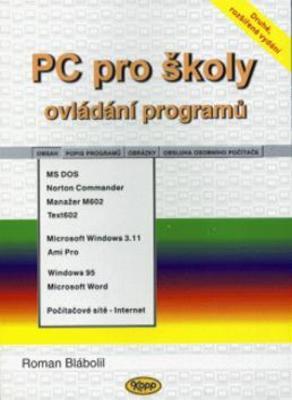 Obrázok PC pro školy ovládání programů