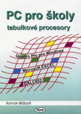 Obrázok PC pro školy tabulkové procesory