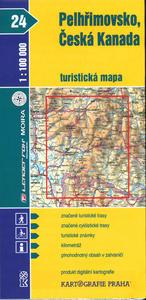 Obrázok Pelhřimovsko, Česká Kanada 1:100 000