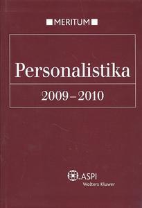 Obrázok Personalistika 2009-2010