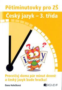 Obrázok Pětiminutovky pro ZŠ Český jazyk - 3. třída