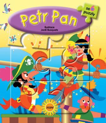 Obrázok Petr Pan 6x puzzle