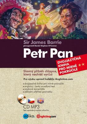 Obrázok Petr Pan (+ CD audio MP3)