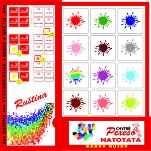 Obrázok Pexeso Natotata Barvy rusky