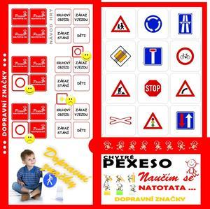 Obrázok Pexeso Natotata Dopravní značky