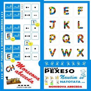 Obrázok Pexeso Natotata Morseova abeceda