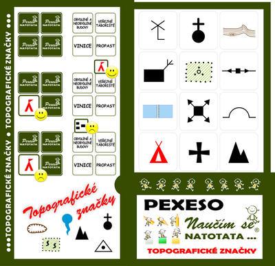 Obrázok Pexeso Natotata Topografické značky