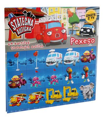 Obrázok Pexeso Statečná autíčka
