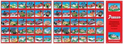 Obrázok Pexeso Stavebnice papírových modelů