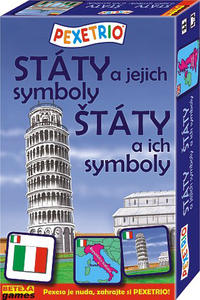 Obrázok Pexetrio Státy a jejich symboly