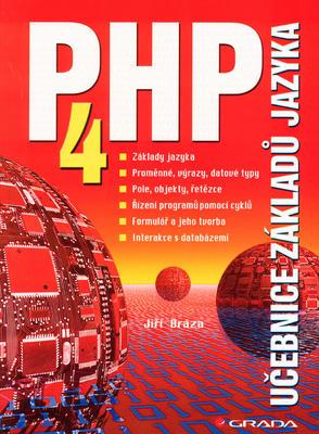 Obrázok PHP 4 učebnice základů jazyka