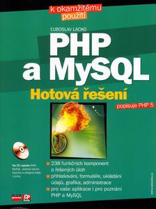 Obrázok PHP a MySQL Hotová řešení + CD