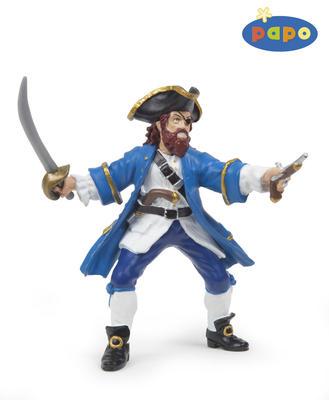 Obrázok Pirát Barbarossa modrý