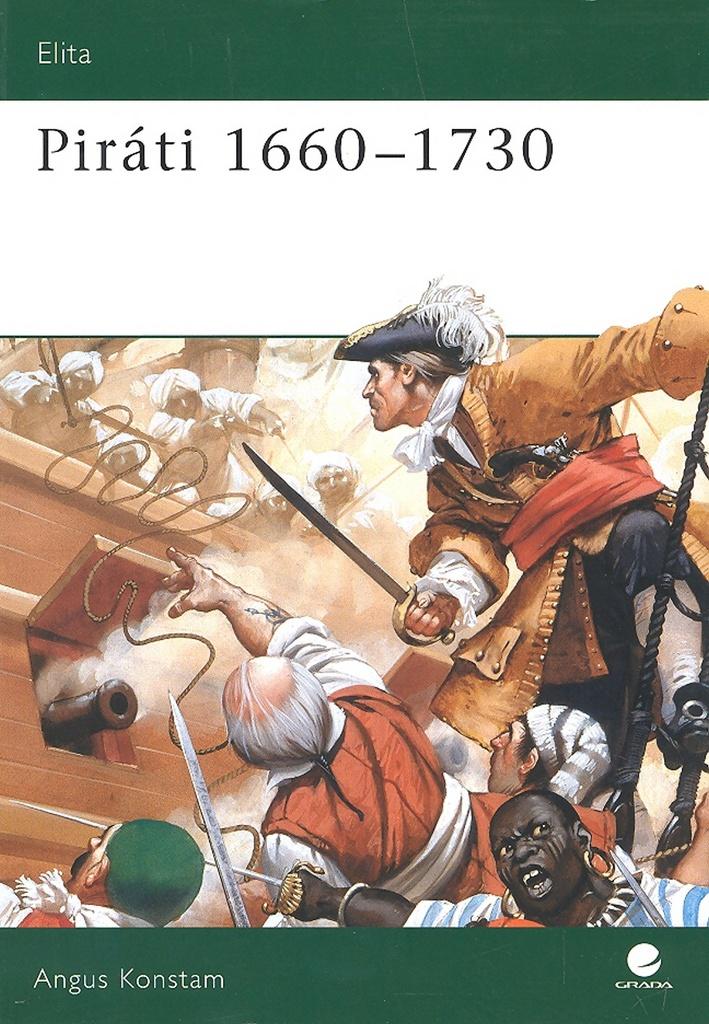Piráti 1660 - 1730 - Angus Konstam