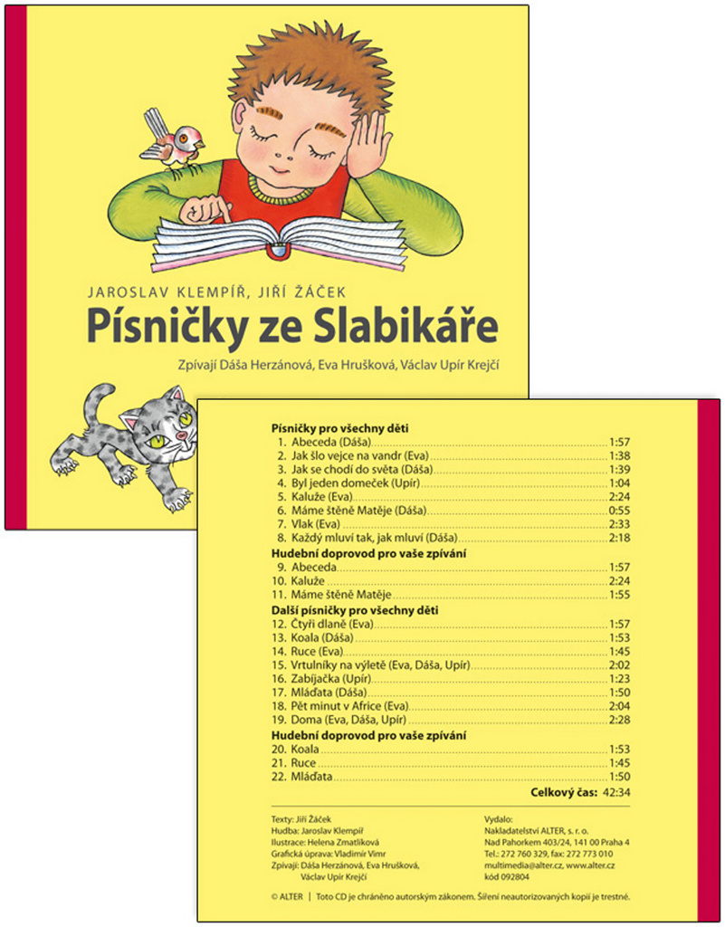 Písničky ze slabikáře Jiřího Žáčka