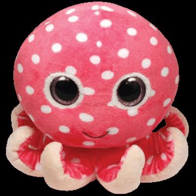 Obrázok Plyš očka chobotnice pink střední