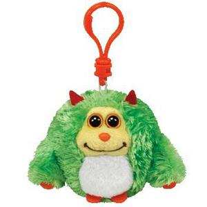 Obrázok Plyš očka Monstaz neon green přívěšek